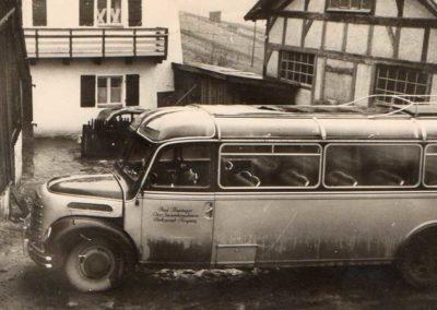 Erster Bus 1954